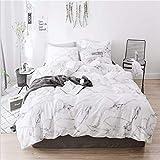 SHJIA Druck Komfortable Familie Bettwäsche Set Bettwäsche Bettbezug Kissenbezüge A 228x228 cm