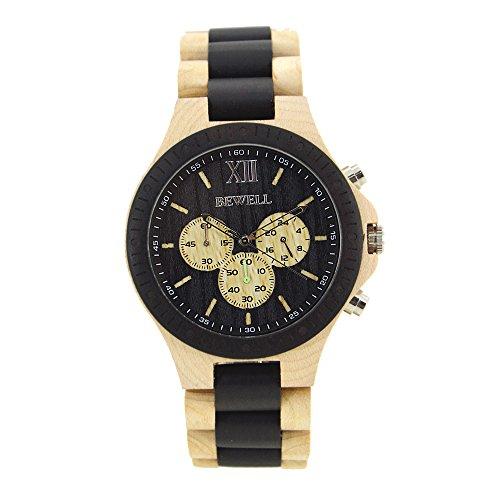 novita-legno-di-sandalo-nero-dell-orologio-japan-movimento-al-quarzo-data-quarzo-eco-watch-new