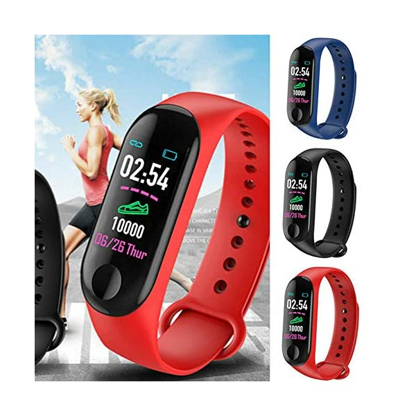 Monitor de actividad física, pantalla a color, monitor de presión arterial, frecuencia cardíaca, contador de pasos… 6