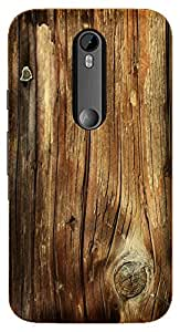 TrilMil Printed Designer Mobile Case Back Cover For Motorola Moto G Turbo Edition