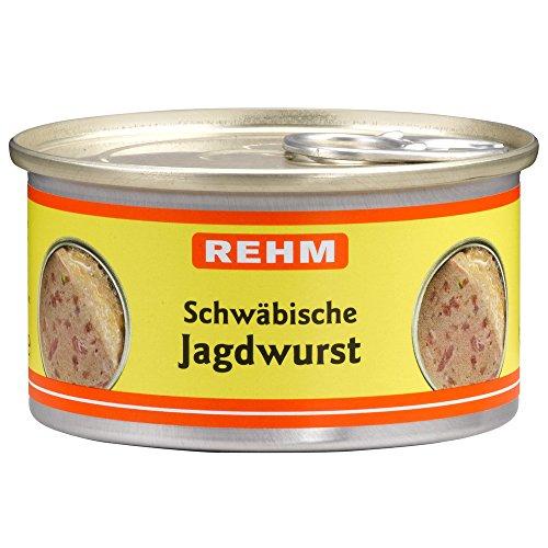 Rehm Schwäbische Jagdwurst, 12er Pack (12 x 125 g)
