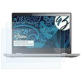Bruni Schutzfolie für Lenovo Yoga 520 (14 inch) Folie - 2 x glasklare Displayschutzfolie