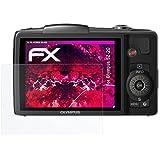 atFoliX Film Vitre Protection Écran Olympus SZ-20 Verre film protecteur - FX-Hybrid-Glass
