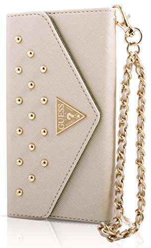 Guess GUCLTP6LSTC iPhone 6 PLUS Studded Collection Cream
