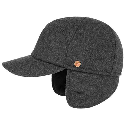 Mayser Casquette Premium a Oreillettes Casquette Sportive Baseball Caps (56 cm - Anthracite)