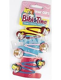 Craze 58283 Haarspangen, Bibi und Tina, Mehrfarbig