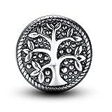 Arbre de la vie Argent Sterling 925 Charm perle pour Bracelet Pandora