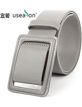 SILIU*Cintura ancha Sra. fajas de plomo-sábana anti-alérgicos individuales de moda cinturón de cuero en la falda...