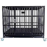 Casetas y cajas para perros Los perros pequeños y medianos de jaula para perros con jaulas