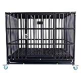 Casetas y cajas para perros Los perros pequeños y medianos de jaula para perros con jaulas para inodoros se pueden apilar con una polea de la caseta de perro de la perrera de la casa de lujo Cajones y