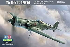 """HobbyBoss échelle 1: 48""""Focke Wulf TA 152C-1/R14Kit de montage"""