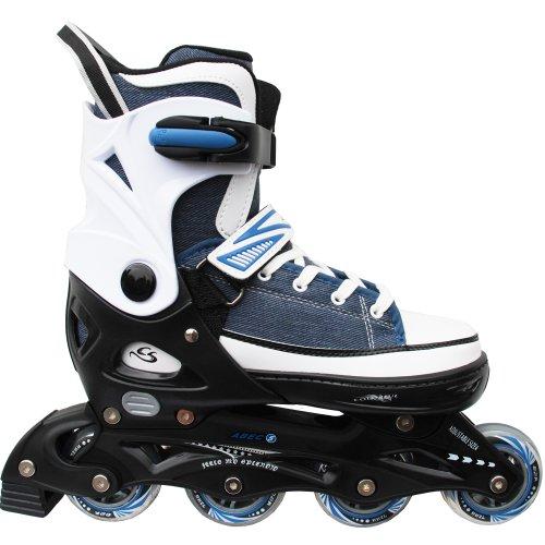 Ice Skate 2 in 1 with ABEC 5 Inline Cox Swain Children Inline /& Ice Skates Sneak