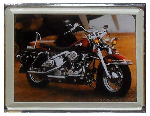 son groß Vintage Metall Motorrad Wandschild-wählen Sie Ihr Design PHOTO ()