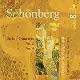 Arnold Schönberg: Streichquartette Nr.2 und 4