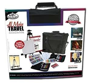 Royal & Langnickel All Media Travel Artist Set Komplettes Reise-Atelierset