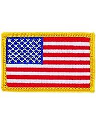 Patch écusson brodé Drapeau usa etats unis americain insigne