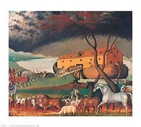 Edward Hicks – Noah's Ark 1846 Poster Print (71.12 x 61.60 cm)