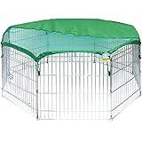 Me & My Pets - Achteckiger Haustierlaufstall mit Sonnenschutz