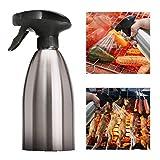 KBstore Spruzzo Bottiglie Spray per Olio d'oliva e Aceto - Bottiglia di Acciaio Inossidabile Spruzzatore Dispensatore pour BBQ/Insalata/Cottura del Pane/Cucina (500 ml) #5
