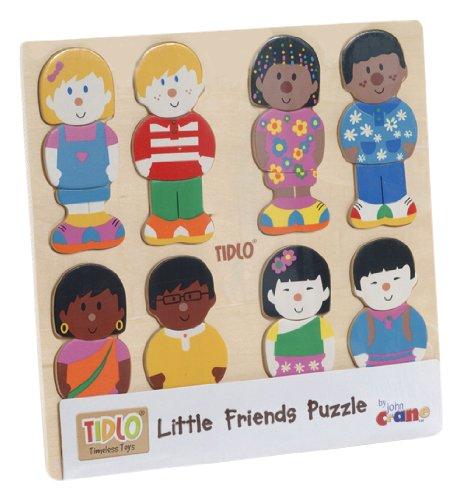 Tidlo Little Friends Wooden Puzzle
