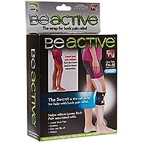 Beactive Attelle pour Mollet Jambe D'acupression pour Traiter les Douleurs au Dos, Hanche, Sciatique par Home Care Wholesale®