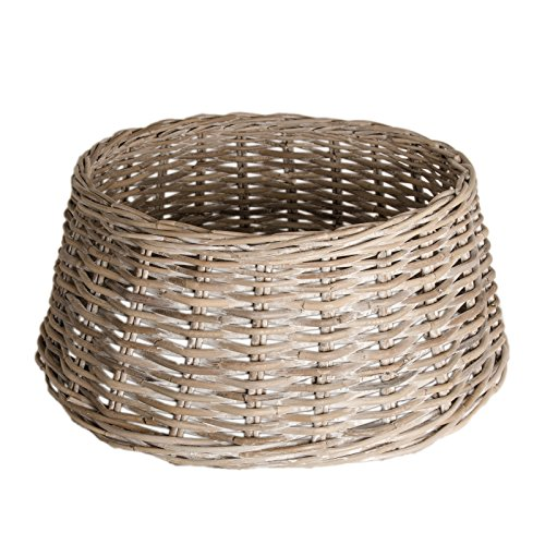 Zierkorb - Korb für Weihnachtsbaumständer oder Christbaumständer Tree Basket Dekoration Blende...