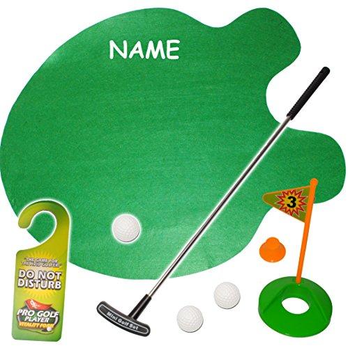 alles-meine GmbH XL Set -  Bürogolf & Tischgolf - Golf Spiel mit Schläger & Golfball  - inkl..