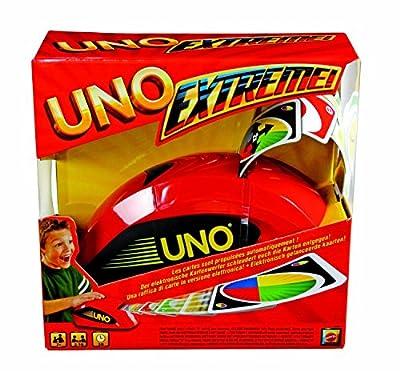 UNO Extreme ou Extreme Jurassic World jeu de société et de cartes, avec distributeur de cartes