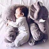 Lovely Long nez éléphant Poupée sommeil Oreiller pour bébé en peluche coussin lombaire