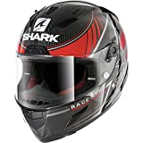 HE8608EDRSM - Shark Race-R Pro Carbon Kolov Motorcycle Helmet M Carbon Red Silver (DRS)