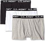 US Army Men's 3-Pack Signature Boxer Bri...