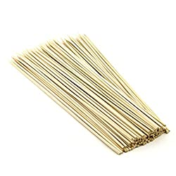 90 Pcs 10 Long Bamboo Cocktail Party Sticks Kebab Skewers, Long Toothpicks