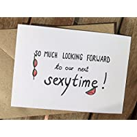 Karte - Fernbeziehung - Ich vermisse Dich - sexy - Looking forward to our next sexytime