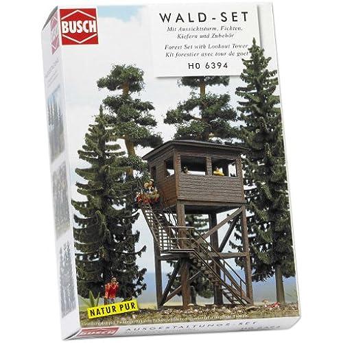 Busch 6394 - Set Foresta con torre panoramica