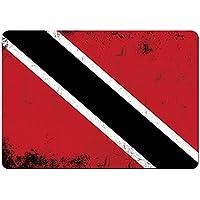 Tappetino per mouse di bandierine stile retrò Trinidad e Tobago colori