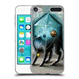 Head Case Designs Offizielle Jason Limon Juwel Blau Random Soft Gel Hülle für Apple iPod Touch 6G 6th Gen
