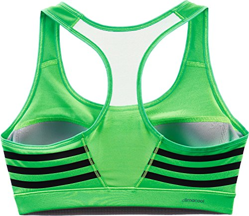 Adidas soutien-gorge de sport pour femme avec dos nageur infinite (series Vert - Flash Green S15