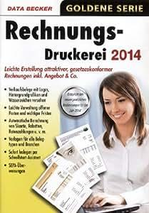 Rechnungsdruckerei 2014