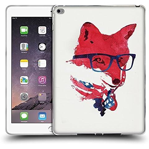 Ufficiale Robert Farkas Volpe Americana Volpe Cover Morbida In Gel Per Apple iPad Air 2