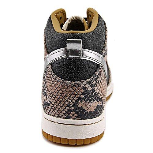 Chaussures de basket Dunk CMFT haut de gamme QS Black/Metallic Silver-Sail