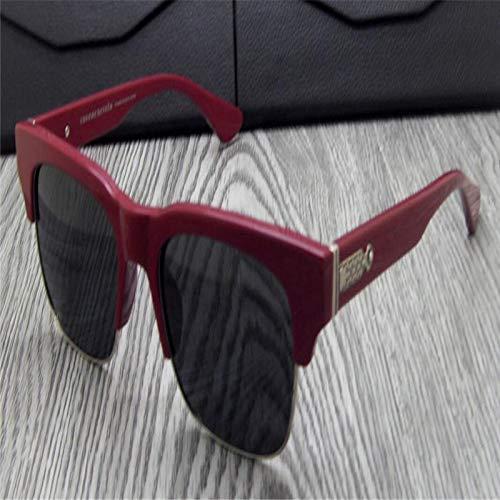 LKVNHP Hochwertiges Markendesign Retro Unisex Fashion Acetate Polarized Sonnenbrille Eyewear Black Leopard Uv400 Schutz Driving Sonnenbrille GoggleColor4