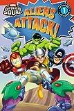 Super Hero Squad: Aliens Attack! (Passport to Reading Media Tie-Ins - Level 1)