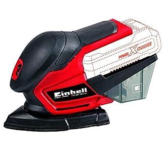 Einhell 4460713 Lijadora Multi TE-OS 18 li 0 W, 18 V, Rojo