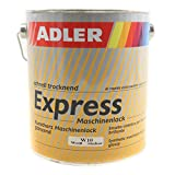 ADLER Express-Maschinenlack Weiß 2,5l Kunstharzlack Spritzlack Lack