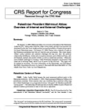 Palestinian President Mahmoud Abbas: Overview of Internal and External Challenges (English Edition)