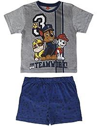 Paw Patrol - pijama manga corta 2 piezas 100% algodón