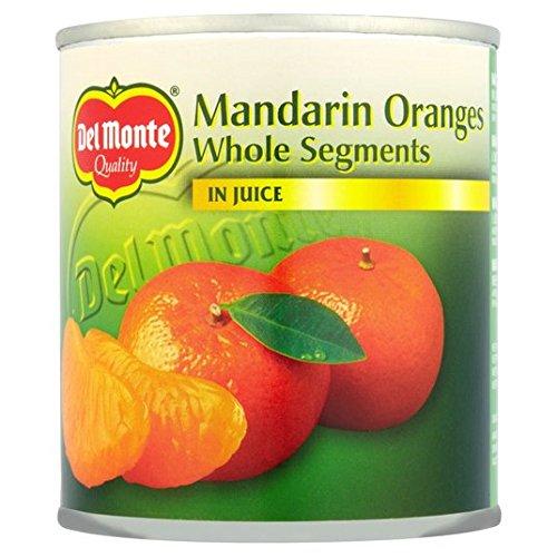 Segments Del Monte mandarines entiers dans Juice 298g