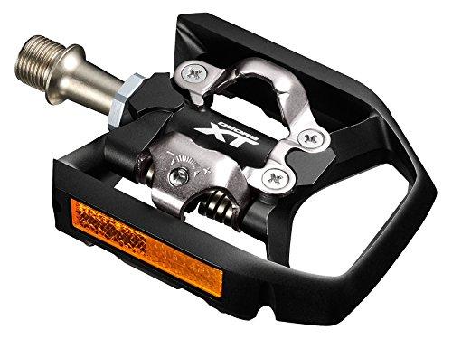 Shimano E-PDT8000 Pedal, Schwarz, One Size