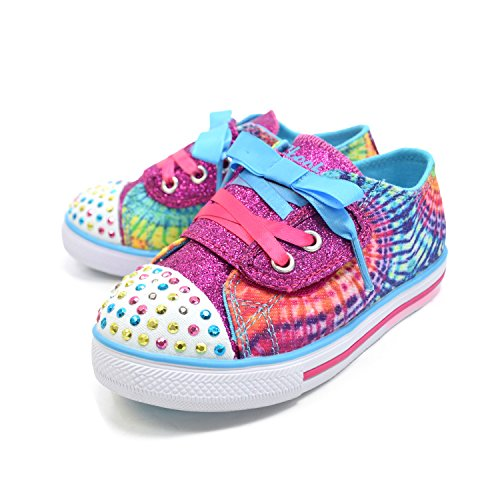 Chaussures Bebe Chit Chat Sunnies Step e16 - Skechers Multicolore