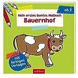 Mein erstes buntes Malbuch - Bauernhof (Malbuch ab 2 Jahren)